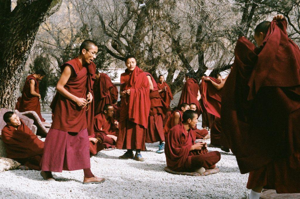 Buddhist monk debates
