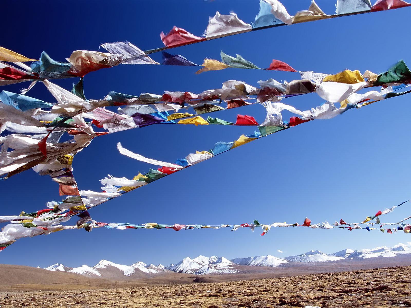 High altitude tibet